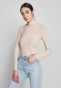 Nly by Nelly - Topper langermet - beige - 0