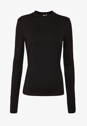 SLEEVE DETAIL - Long sleeved top - black