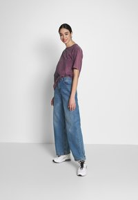 Nly by Nelly - WASHED OUT TEE - Basic T-shirt - purple - 1