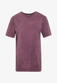 Nly by Nelly - WASHED OUT TEE - Basic T-shirt - purple - 4
