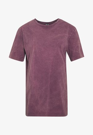 WASHED OUT TEE - Basic T-shirt - purple