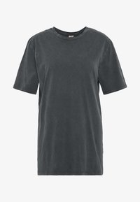 Nly by Nelly - WASHED OUT TEE - Basic T-shirt - offblack - 4