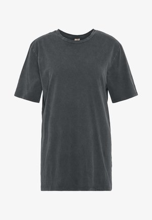 WASHED OUT TEE - T-shirt basic - offblack