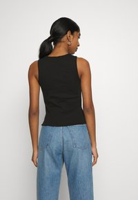 Nly by Nelly - CUTE TANK - Top - black - 2