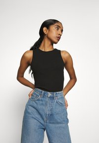 Nly by Nelly - CUTE TANK - Top - black - 3