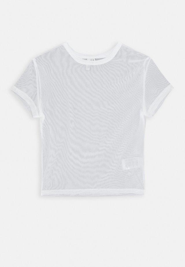 PERFECT - Jednoduché triko - white