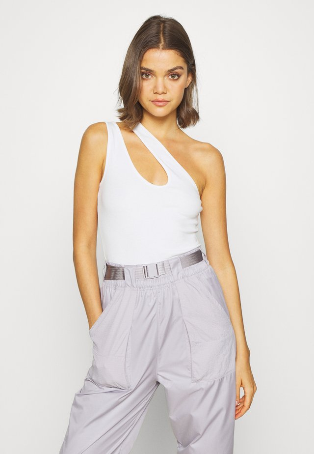 DOUBLE SIDE - Top - white