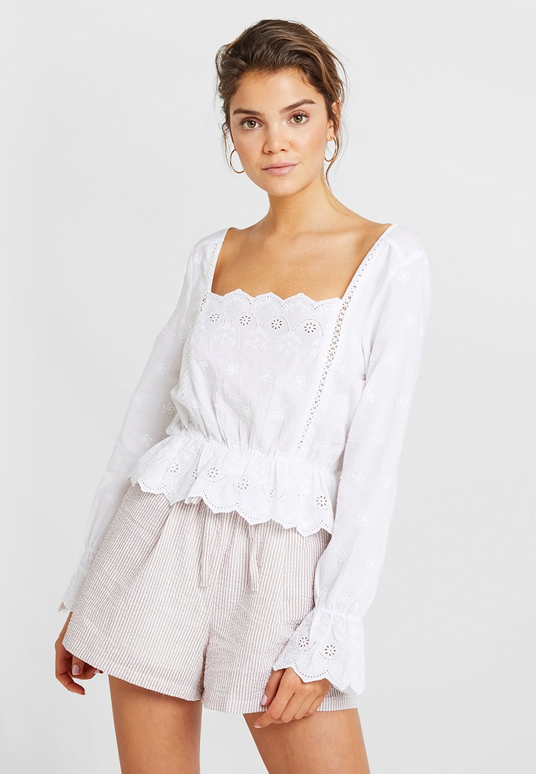 Nly by Nelly - SUNRISE BLOUSE - Camicetta - white