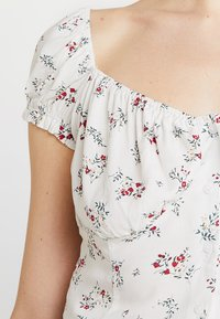 Nly by Nelly - SWEETHEART BLOUSE - Bluser - creme - 4