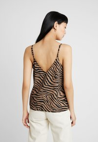 Nly by Nelly - PERFECT SLIP  - Débardeur - black/brown - 2