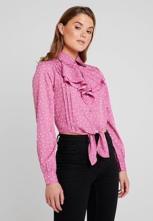 AMOUR BLOUSE - Blusa - pink