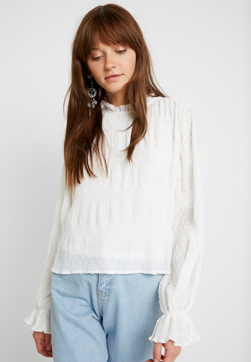 Nly by Nelly - RUCHED BLOUSE - Blus - white
