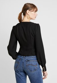 Nly by Nelly - STYLISH BLOUSE - Blus - black - 2