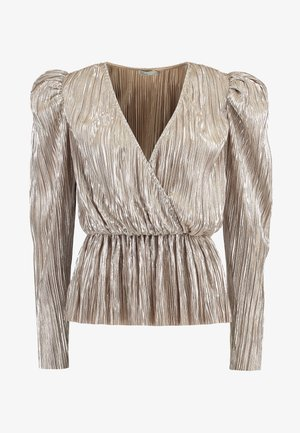 PLEATED WRAP - Bluser - champagne