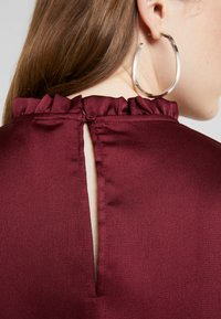 Nly by Nelly - HIGH NECK BLOUSE - Blouse - burgundy - 5