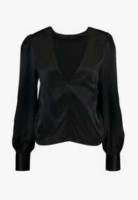 Nly by Nelly - EYE CATCHER BLOUSE - Blus - black - 3