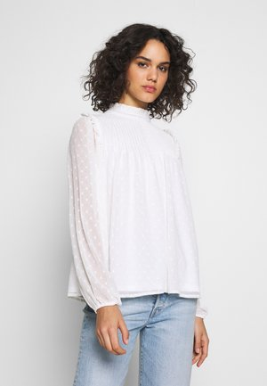 DEAR DOBBY BLOUSE - Blouse - white
