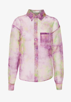 PRINTED ORGANZA - Camisa - multicoloured