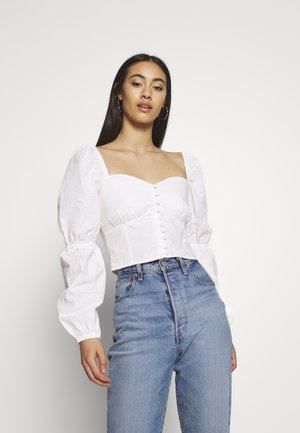 BUTTON SAVANNAH - Camicetta - off-white