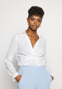 Nly by Nelly - STRUCTURE KNOT - Bluser - white - 0