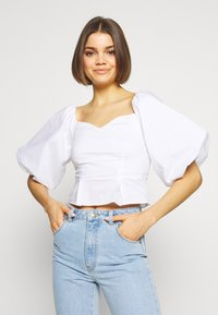 Nly by Nelly - LOVELY - Blouse - white - 0