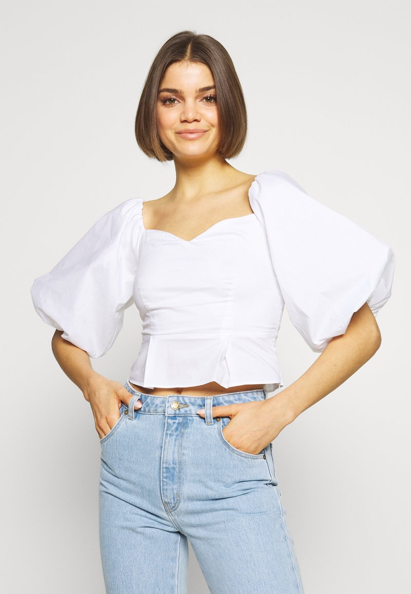 Nly by Nelly - LOVELY - Blouse - white