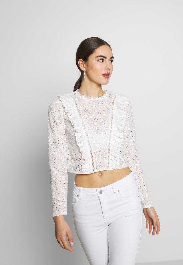 DEAR TOP - Blouse - white