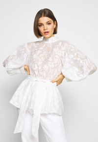 Nly by Nelly - BLOOM BLOUSE - Bluse - white - 2
