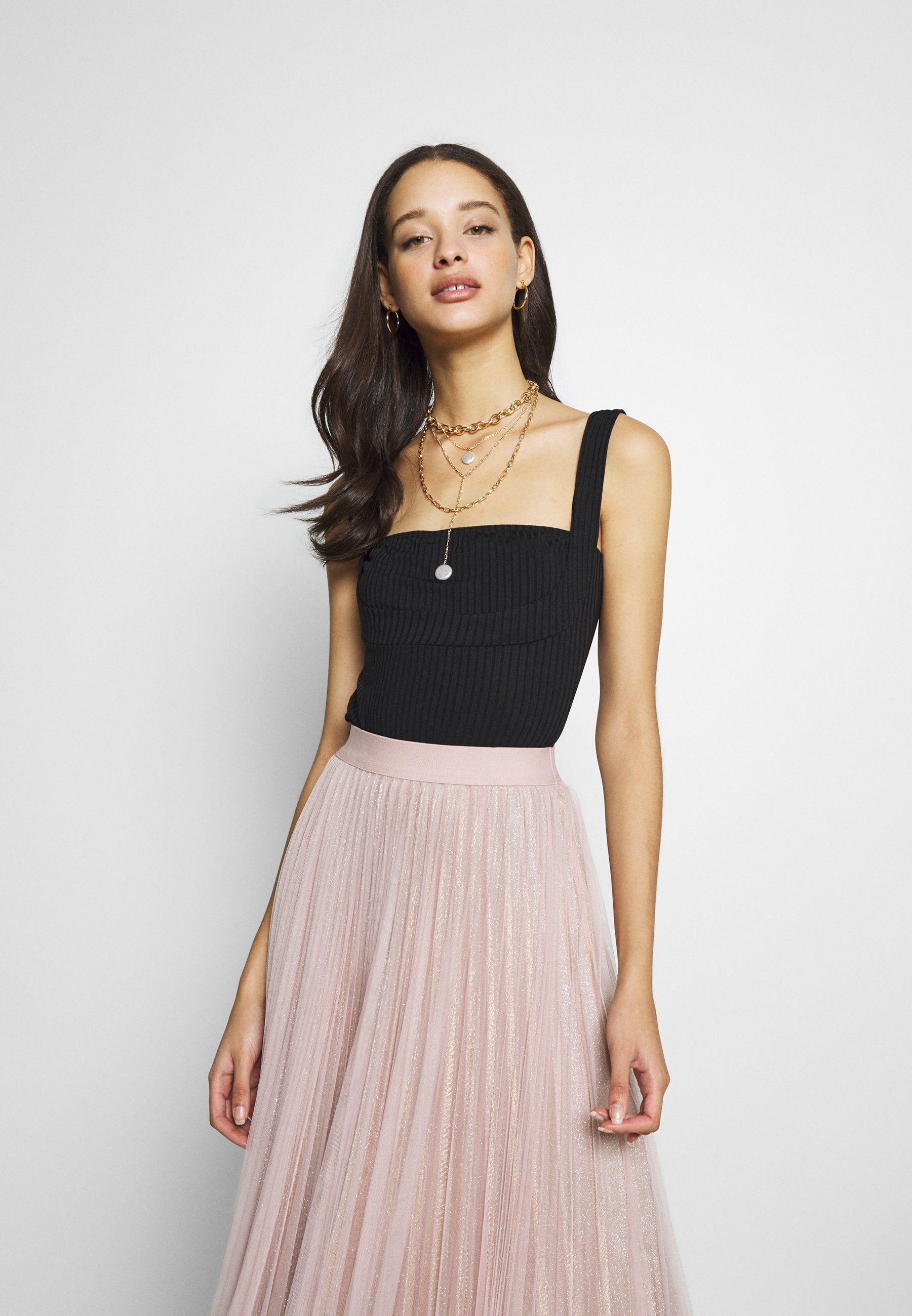 Nly by Nelly FRAMED BUST BODY - Top - black