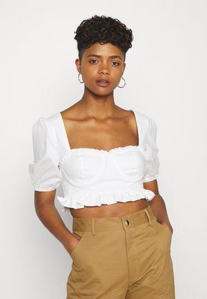 SWEET CORSET - Bluser - white