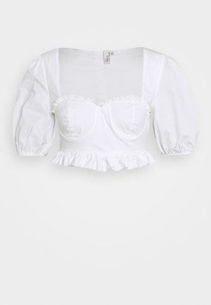 SWEET CORSET - Blouse - white