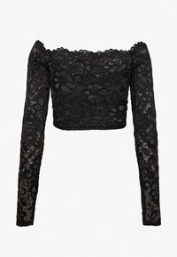 Nly by Nelly - OFF SHOULDER - Blusa - black - 1