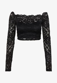 Nly by Nelly - OFF SHOULDER - Blusa - black - 0