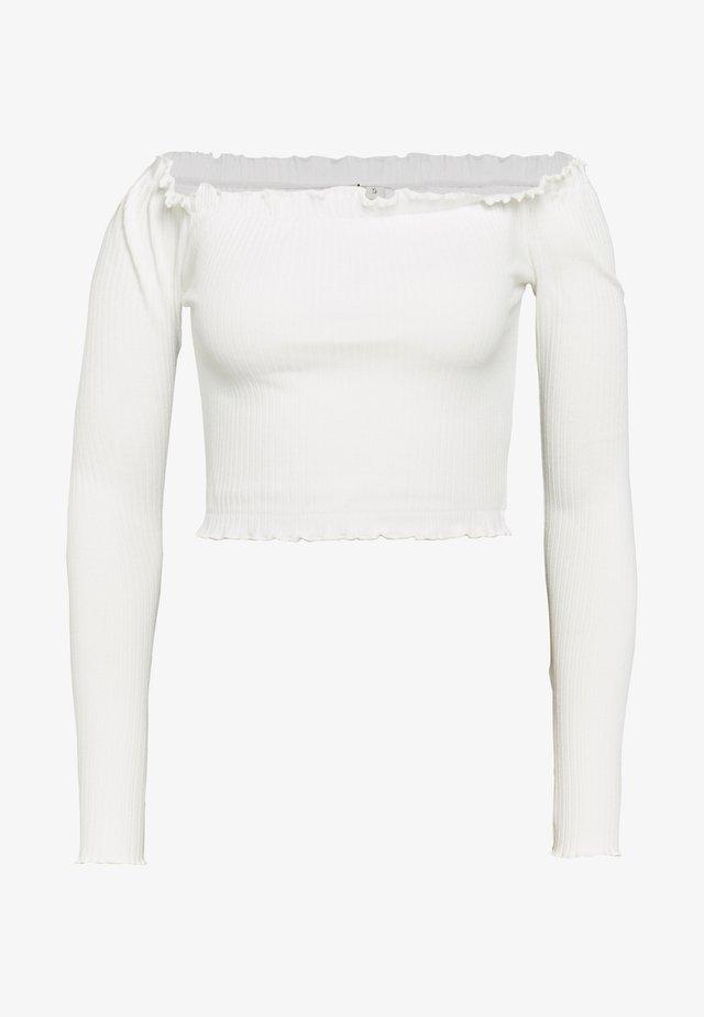 CROPPED - Bluzka - white