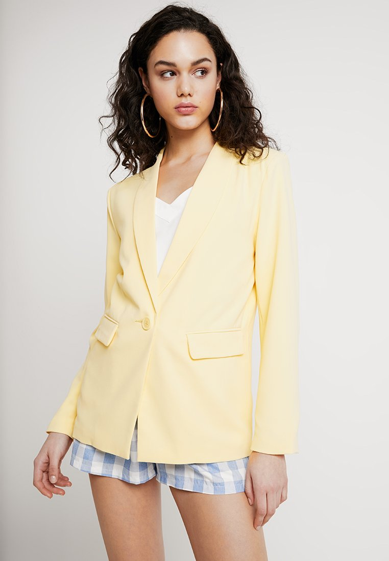 Nly by Nelly - THE IT - Short coat - yellow