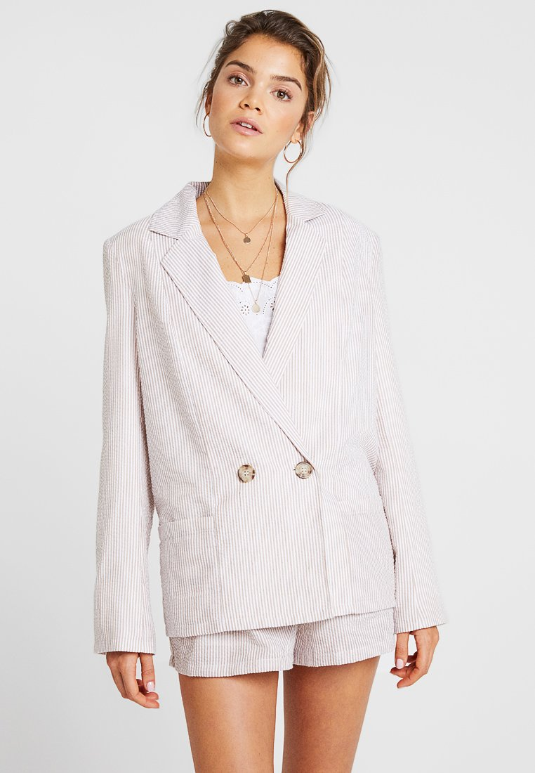 Nly by Nelly - SUMMER BREEZE - Blazer - brown