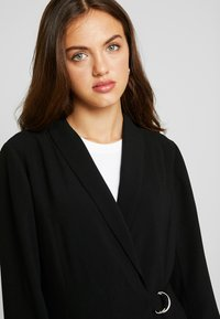 Nly by Nelly - WRAP BELTED - Short coat - black - 3