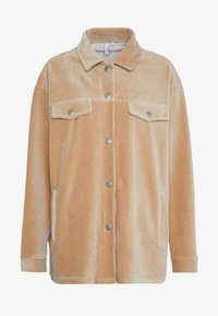 Nly by Nelly - SHACKET - Skjorte - beige - 3