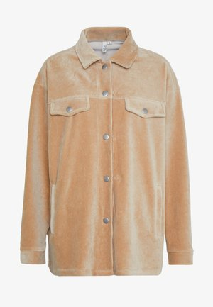 SHACKET - Button-down blouse - beige