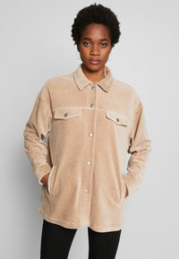Nly by Nelly - SHACKET - Skjorte - beige - 0