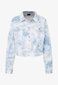 Nly by Nelly - CROPPED TRUCKER JACKET - Denim jacket - tie dye - 3