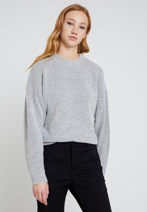 SLEEVE FOCUS - Pullover - grey melange