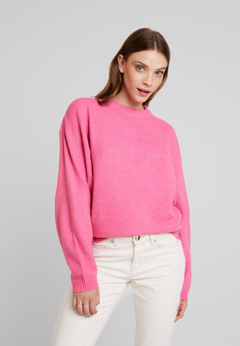 Nly by Nelly - SLEEVE FOCUS - Jumper - cerise
