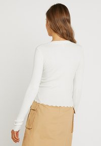 Nly by Nelly - CARDIGAN - Cardigan - white - 2