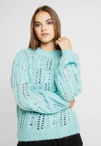 Nly by Nelly - IMPRESSION - Jumper - aqua - 0