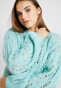 Nly by Nelly - IMPRESSION - Jumper - aqua - 4