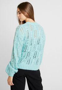 Nly by Nelly - IMPRESSION - Jumper - aqua - 2
