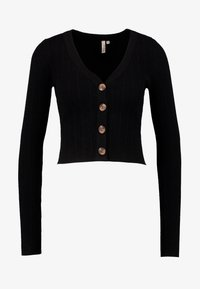 Nly by Nelly - CROPPED CARDIGAN - Kardigan - black - 3