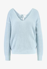 Nly by Nelly - V BACK LACE UP - Pullover - blue - 4