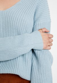 Nly by Nelly - V BACK LACE UP - Pullover - blue - 5